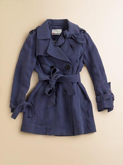3.1 Phillip Lim Toddler's & Little Girl's Trench Coat