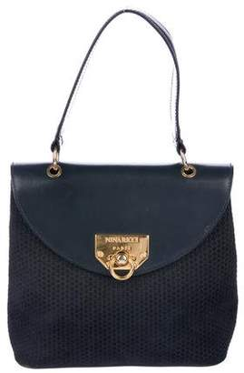 Nina Ricci Nubuck Handle Bag