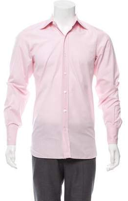 Tom Ford Woven Button-Up Shirt