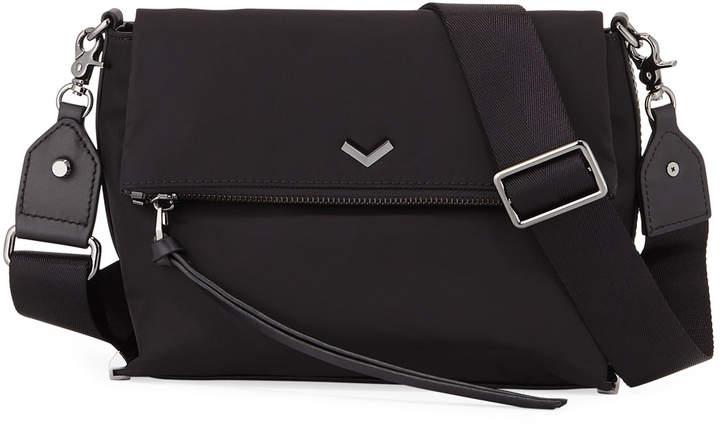 Botkier Mayfair Nylon Crossbody Bag, Black