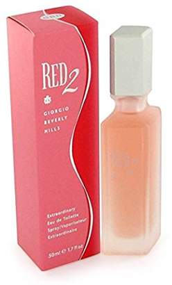 Giorgio Beverly Hills Red 2 For Women By EDT Spray 1.7 Oz