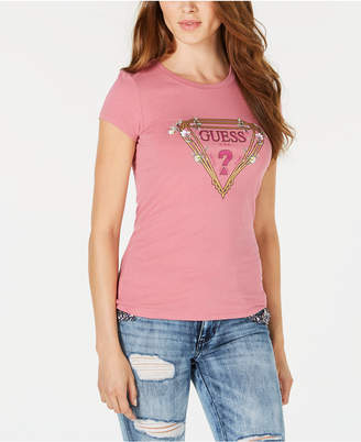GUESS Graphic Crew-Neck T-Shirt