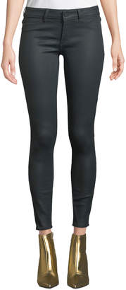 DL1961 Premium Denim Emma Low-Rise Coated Skinny Jeans