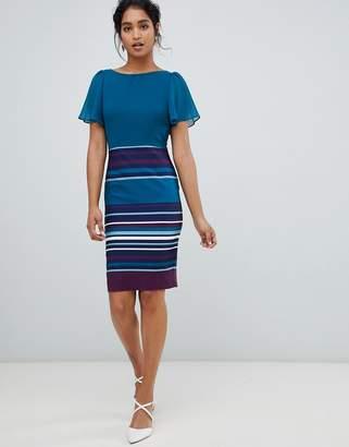 69ab1e6f969 Paper Dolls 2 in 1 stripe skirt midi dress in multi