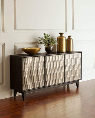 Hooker Furniture Shimmer Three-Door Entertainment Console