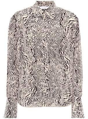 Chloé Printed silk shirt