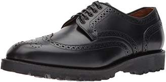 Allen Edmonds Men's Tate Wingtip Blucher with Perfing Detail and Lug Sole Oxford 9 D US