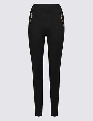 Marks and Spencer Ponte Slim Leg Trousers