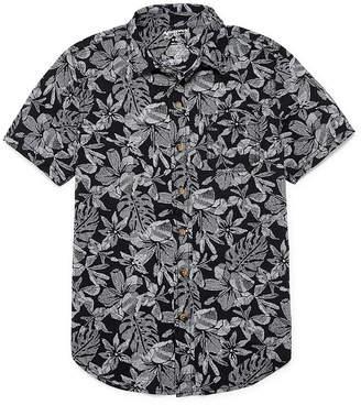 Arizona Short Sleeve Woven Shirt Boys 4-20