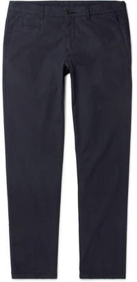 Altea Milano Slim-Fit Stretch-Cotton Poplin Trousers