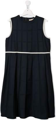 Marni TEEN sleeveless pleated dress