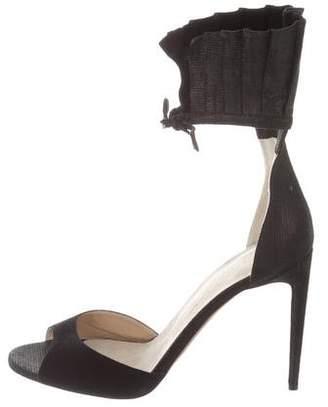 Valentina Carrano Suede High Heel Sandals