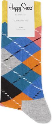 Happy Socks Argyle cotton socks $9.50 thestylecure.com