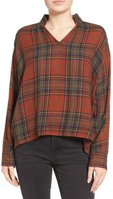 Madewell Highroad Plaid Popover Shirt