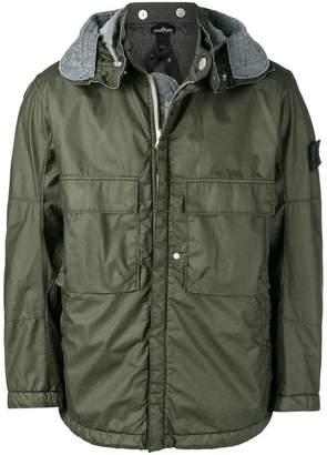 Stone Island Shadow Project detachable hood jacket