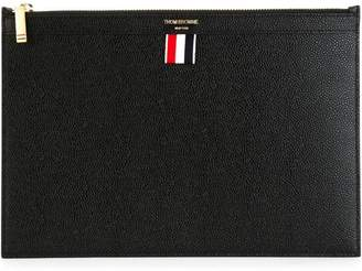 Thom Browne Small Pebble Grain Tablet Holder