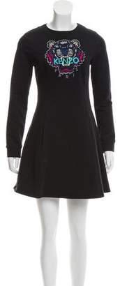 Kenzo Logo Sweatshirt Dress