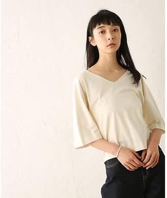 BLACK by moussy (ブラック バイ マウジー) - BLACK BY MOUSSY v−neck dolman cut tops
