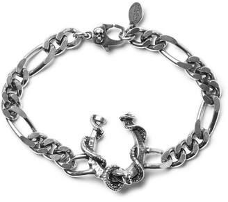 Alexander McQueen Silver-Tone Chain Bracelet - Men - Silver