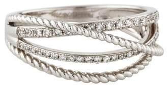 KC Designs 14K Diamond Basket Weave Ring