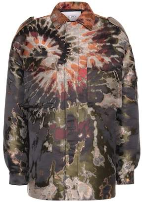 Valentino Metallic printed jacket