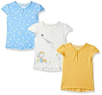 Mothercare Girl's Daisy and Spot T-Shirts – 3 Pack (Size:92CM)