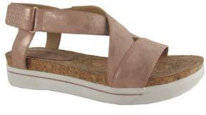 Adrienne Vittadini Celie Suede Platform Sandals $69 thestylecure.com