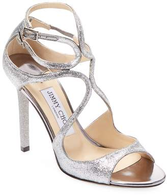 Jimmy Choo Women's Lang Patent Leather Strappy Sandal