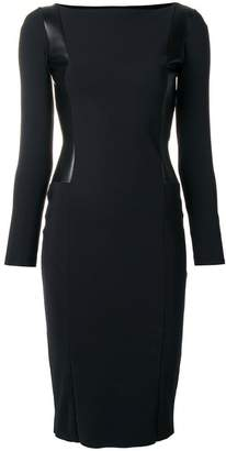 Chiara Boni Le Petite Robe Di longsleeve fitted dress