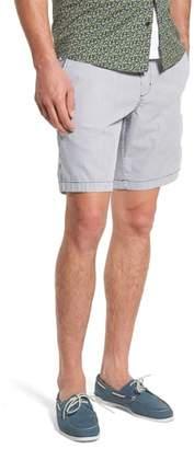 1901 Ballard Slim Fit Seersucker Shorts
