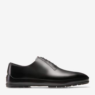 Bally Redison Black, Men's calf leather oxford shoe in black
