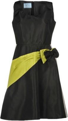 fd04dd9d433 Prada Black Solid Color Dresses - ShopStyle