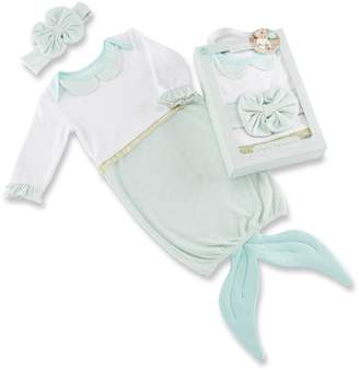 Baby Aspen Baby Girl Simply Enchanted Mermaid 2-Piece Layette Set