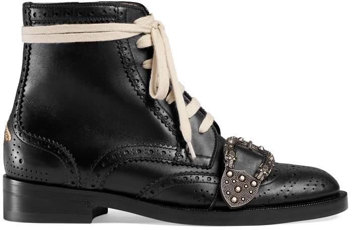 Queercore brogue boot