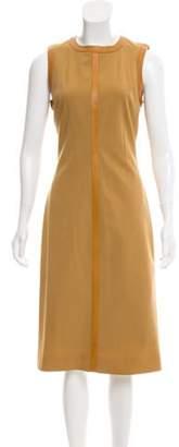 Plein Sud Jeans Sleeveless Midi Dress wool Sleeveless Midi Dress
