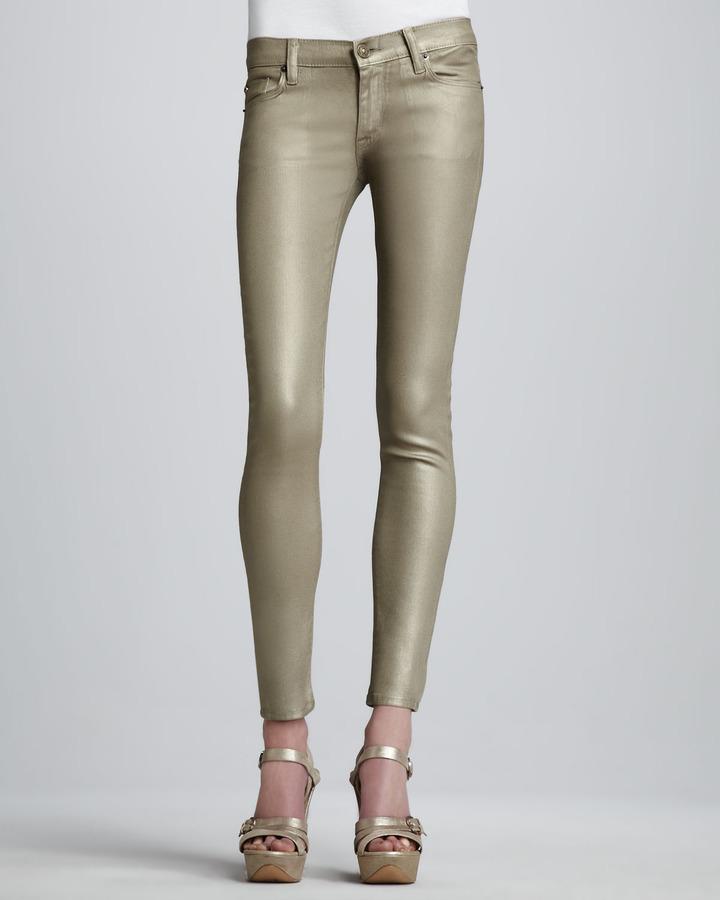 Hudson Krista Gold Super Skinny Jeans