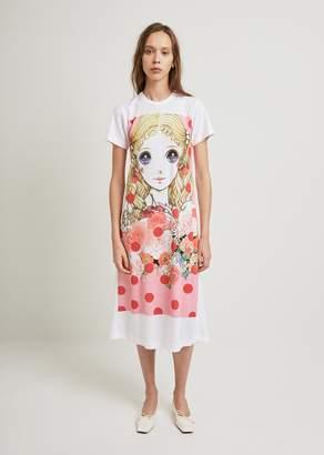 Comme des Garcons Inkjet Print J3 Pattern Dress