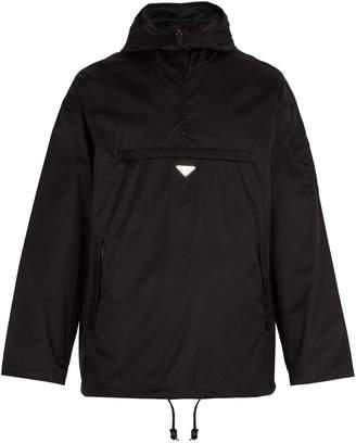 Prada Lightweight pullover nylon jacket