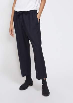 Chimala Cropped Elastic Drawstring Pant