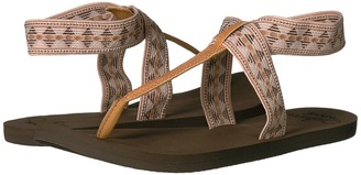 Reef - Cushion Moon Prints Women's Sandals $37 thestylecure.com