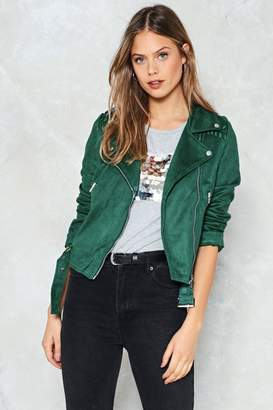 Nasty Gal Game Plan Moto Jacket