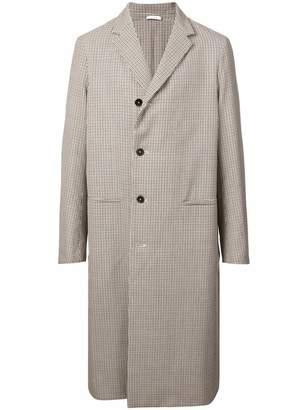 Jil Sander long single-breasted coat