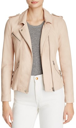 Rebecca Taylor Washed Leather Motorcycle Jacket $895 thestylecure.com