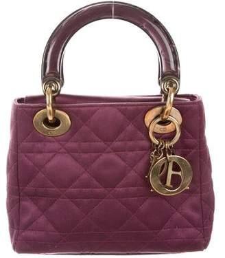 Christian Dior Mini Satin Lady Bag