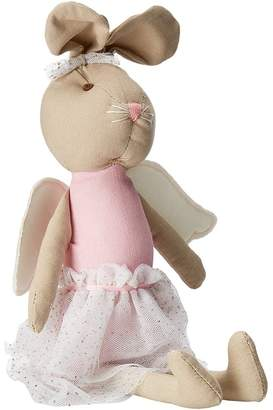 Mud Pie Linen Bunny Princess Doll Accessories Travel