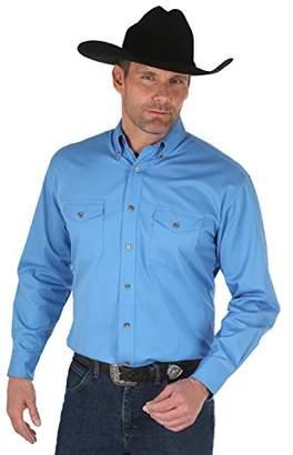 Wrangler Men's Big & Tall Painted Desert Long Sleeve Button Shirt