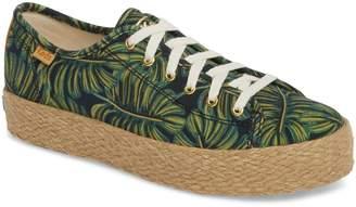 Keds R) x Rifle Paper Co. Triple Kick Palms Platform Sneaker