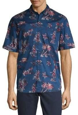 d9fc5aa1 Tommy Bahama Hula Hut Camp Shirt