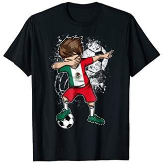 24be2be4d Dabbing Boy Mexico Soccer Shirt Jersey Mexican Football Tee