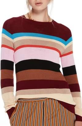 Scotch & Soda Colorful Stripe Sweater